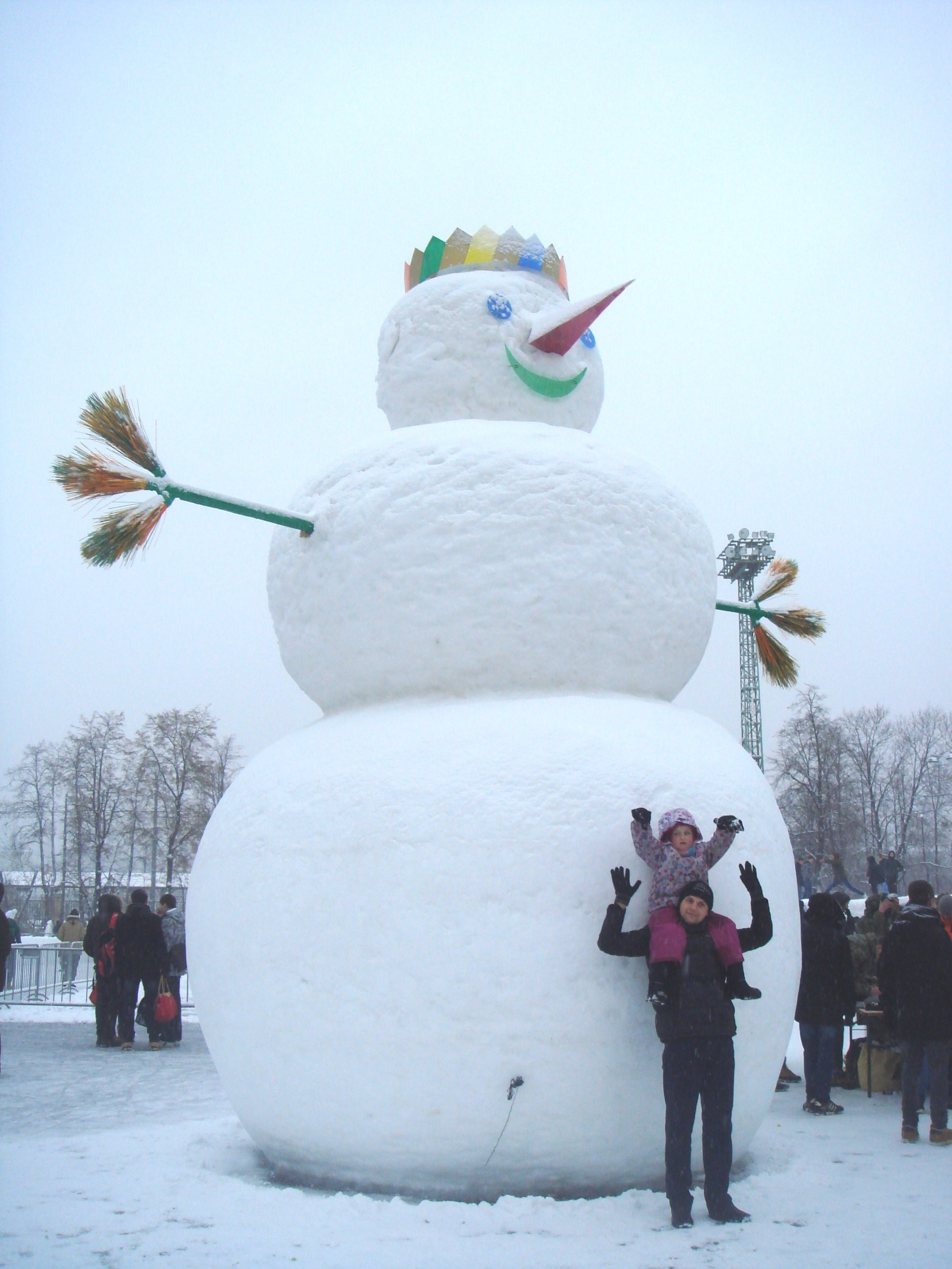 try beating this Snowman!