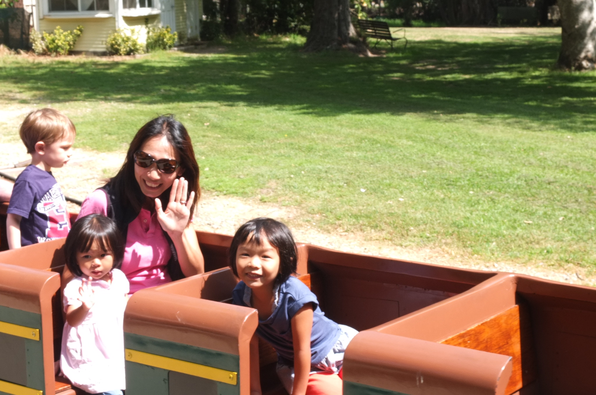 Kiddy train ride in Griffith Park LA