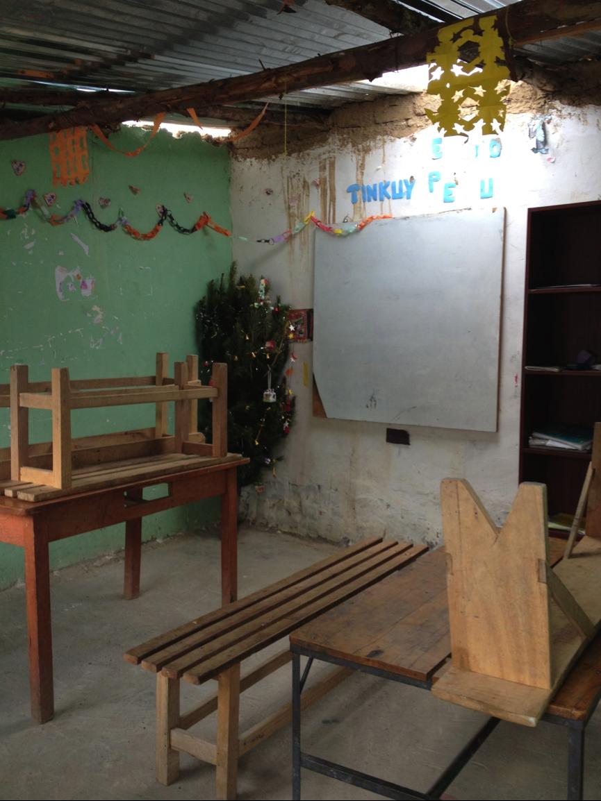 The classroom   PHOTO: Lau Kia Yong