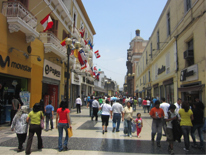 The town of Lima   PHOTO: Lau Kia Yong
