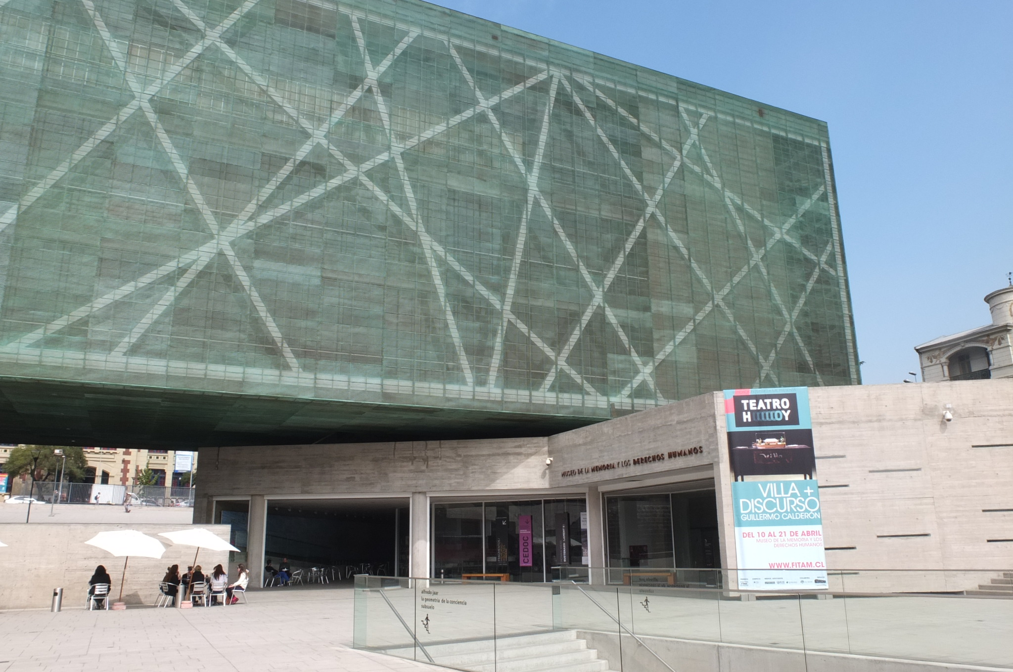 Museum of Human Rights (documented the history of Chile)