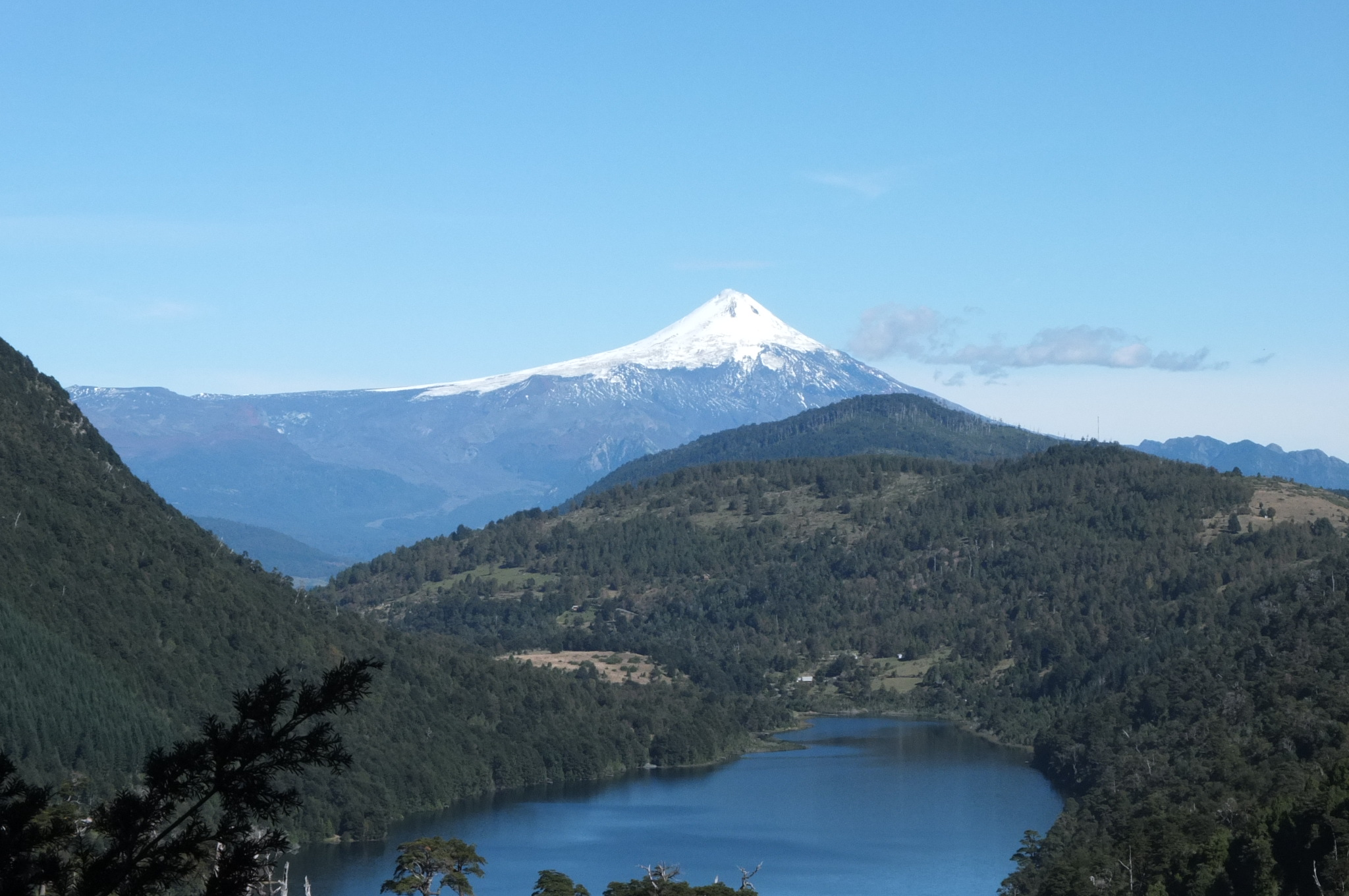 Pucon -- Mt Villacarica (background)