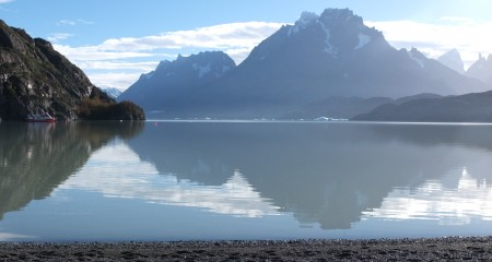 Perfect reflection (Grey Lagoon in Torres Del Paine)
