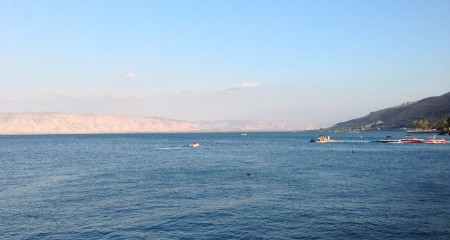 The Sea of Galilee - Where Jesus performed many miracles according to the Bible