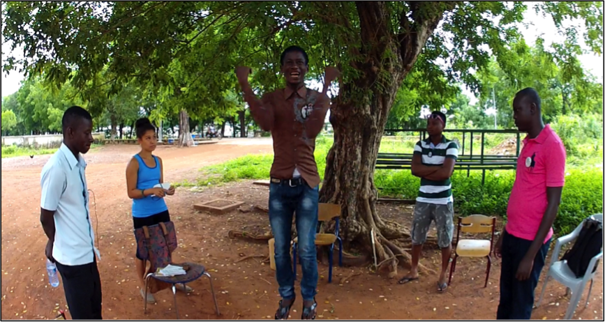 filmmaking workshop I conducted with my friend Nicole during my last week in Ghana