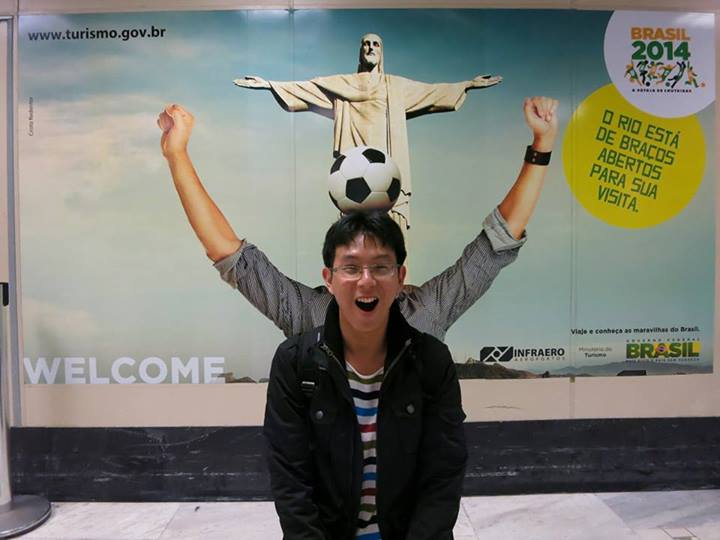 Me at Rio Airport
