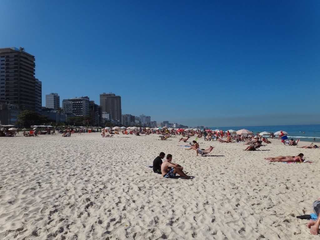 Another beautiful view of Ipanema Beach
