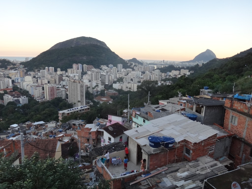 View from the favela