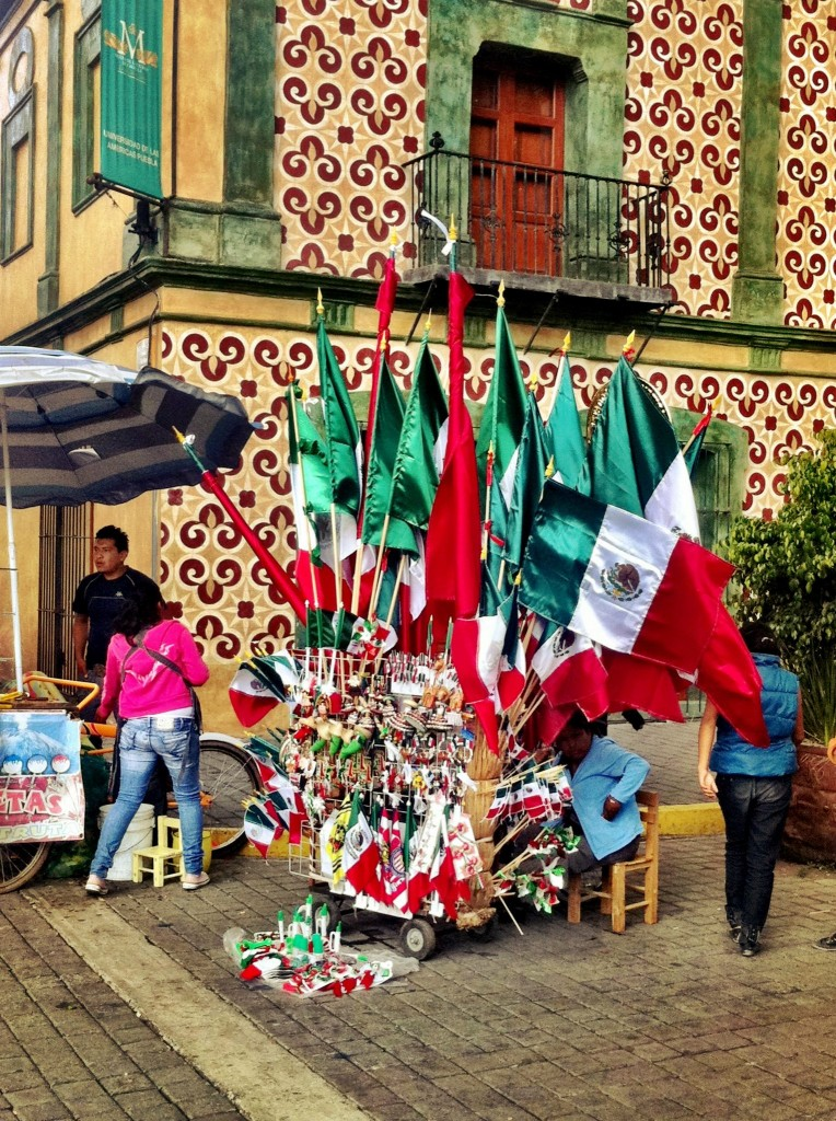 Mexican flags for Independence Day