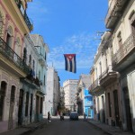 Cuban Street Flag