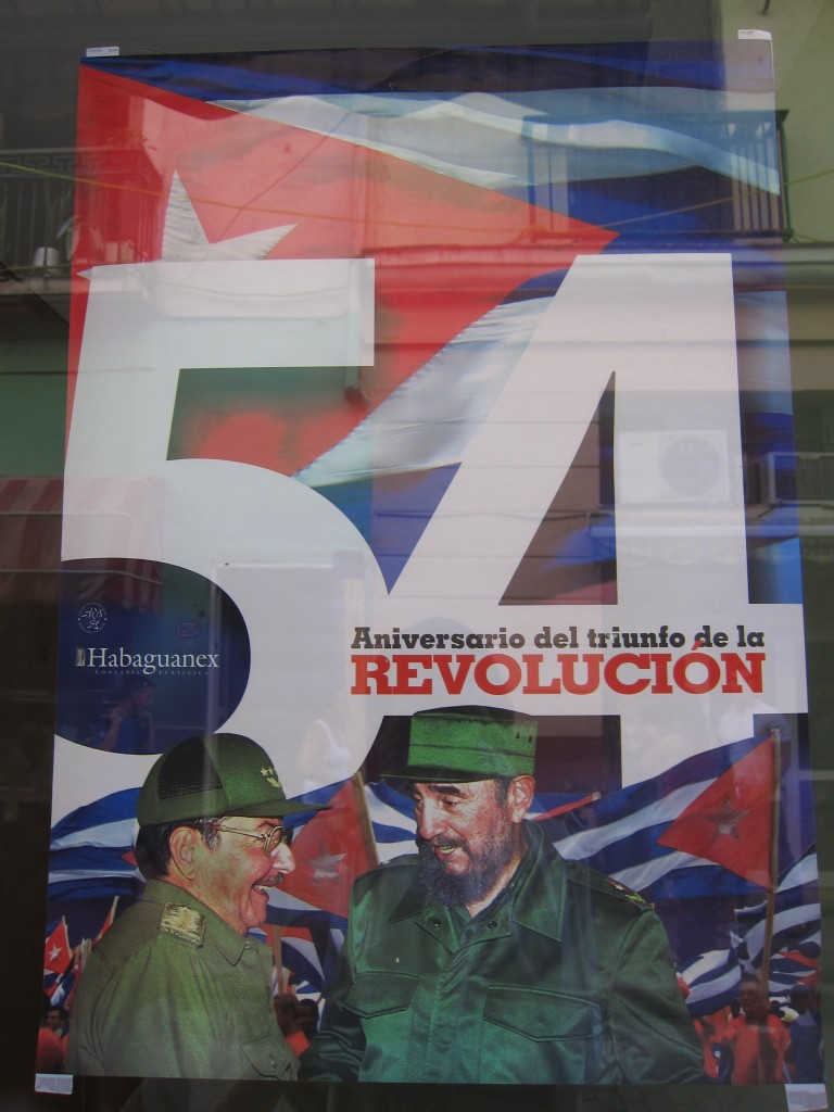 Poster of the 54th Anniversary of the Revolutionary