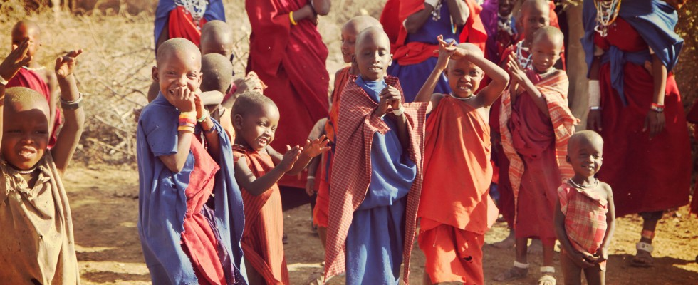 Dancing with the Maasais