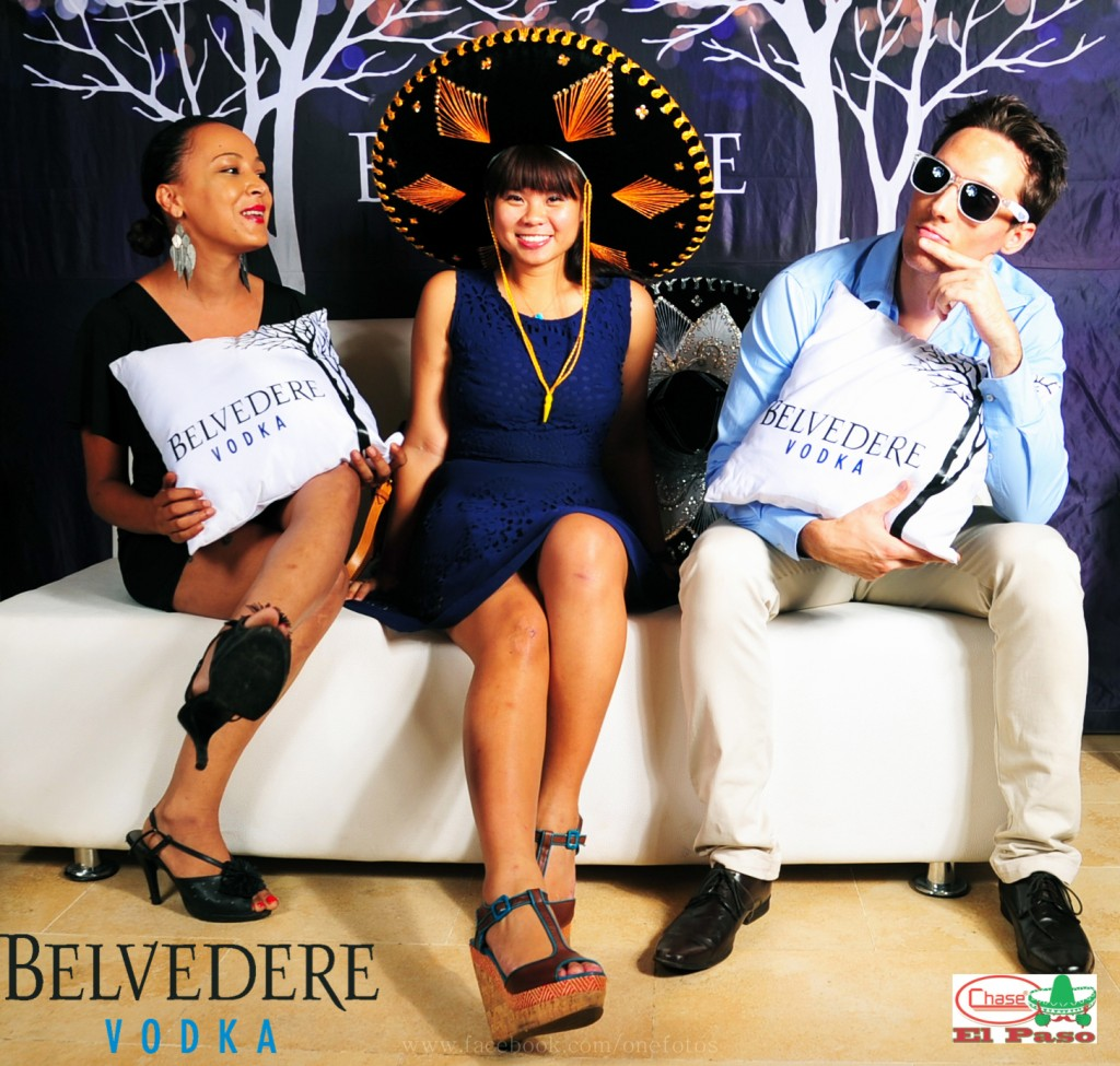 El Paso Belvedere Vodka Event organised by Esther and her team in May 2013