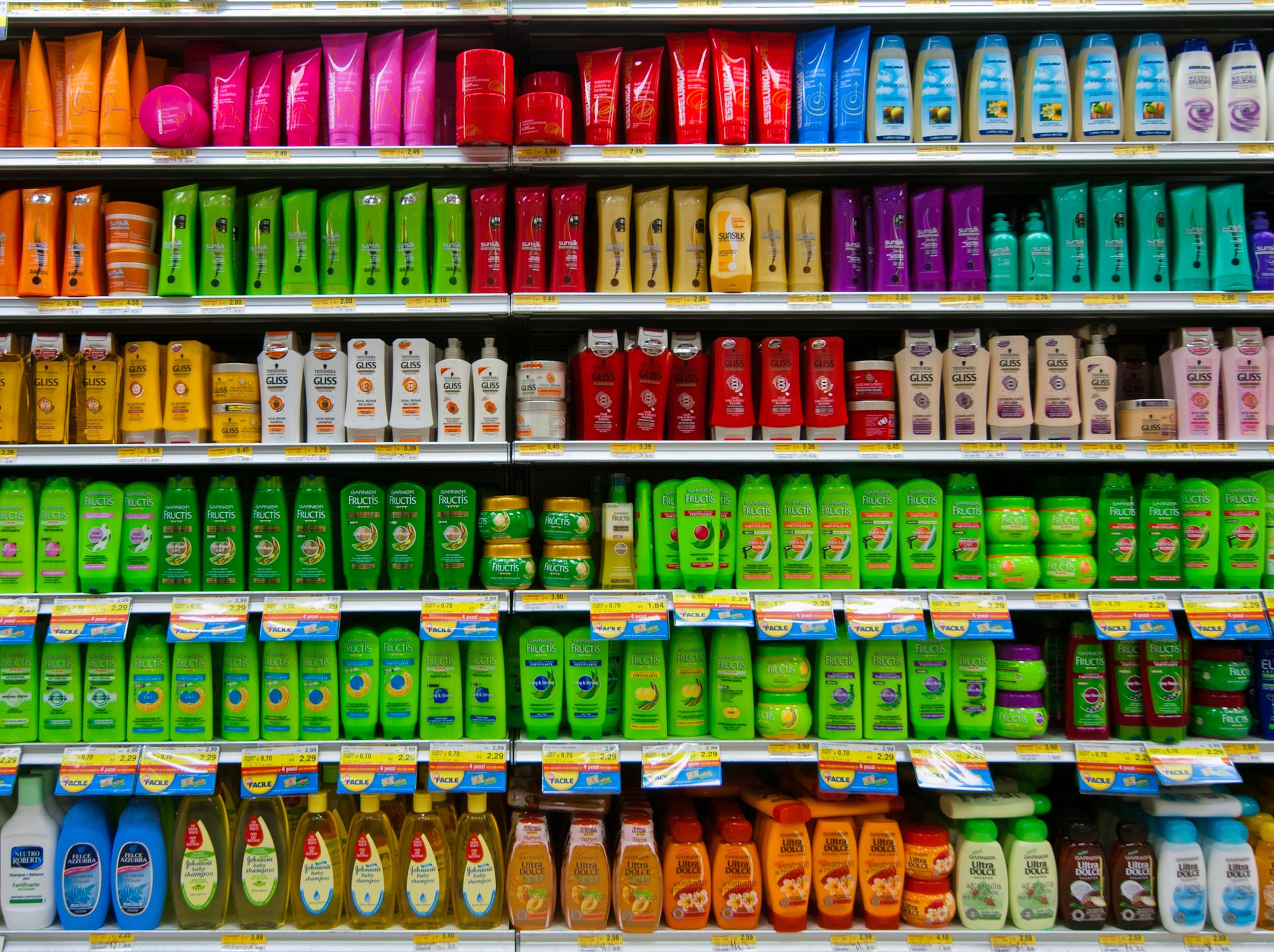 Supermarket Shampoo and conditional Gobeyond