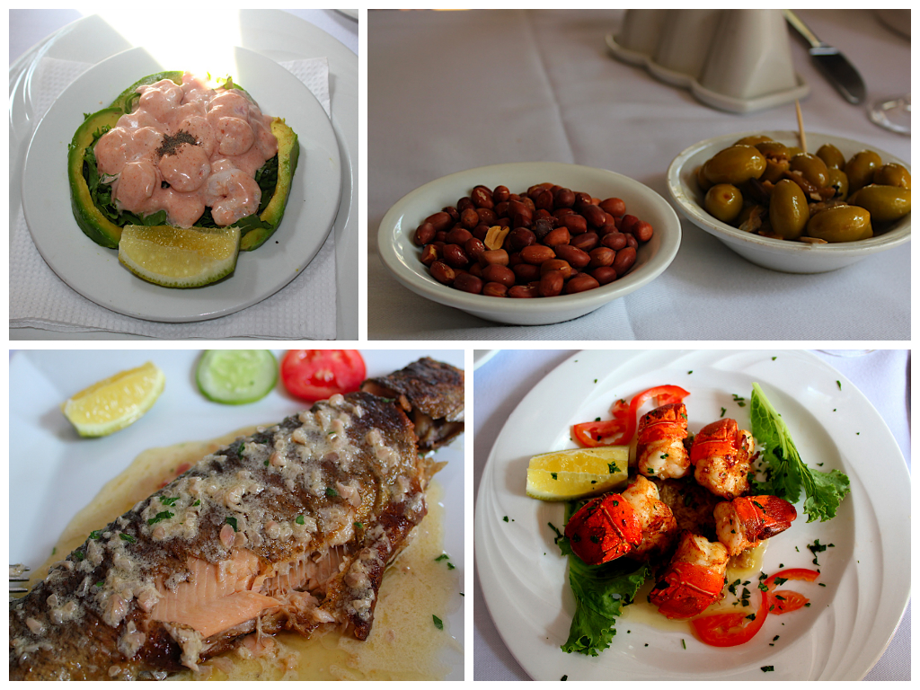 Huge variety of food in La Chaumiere!