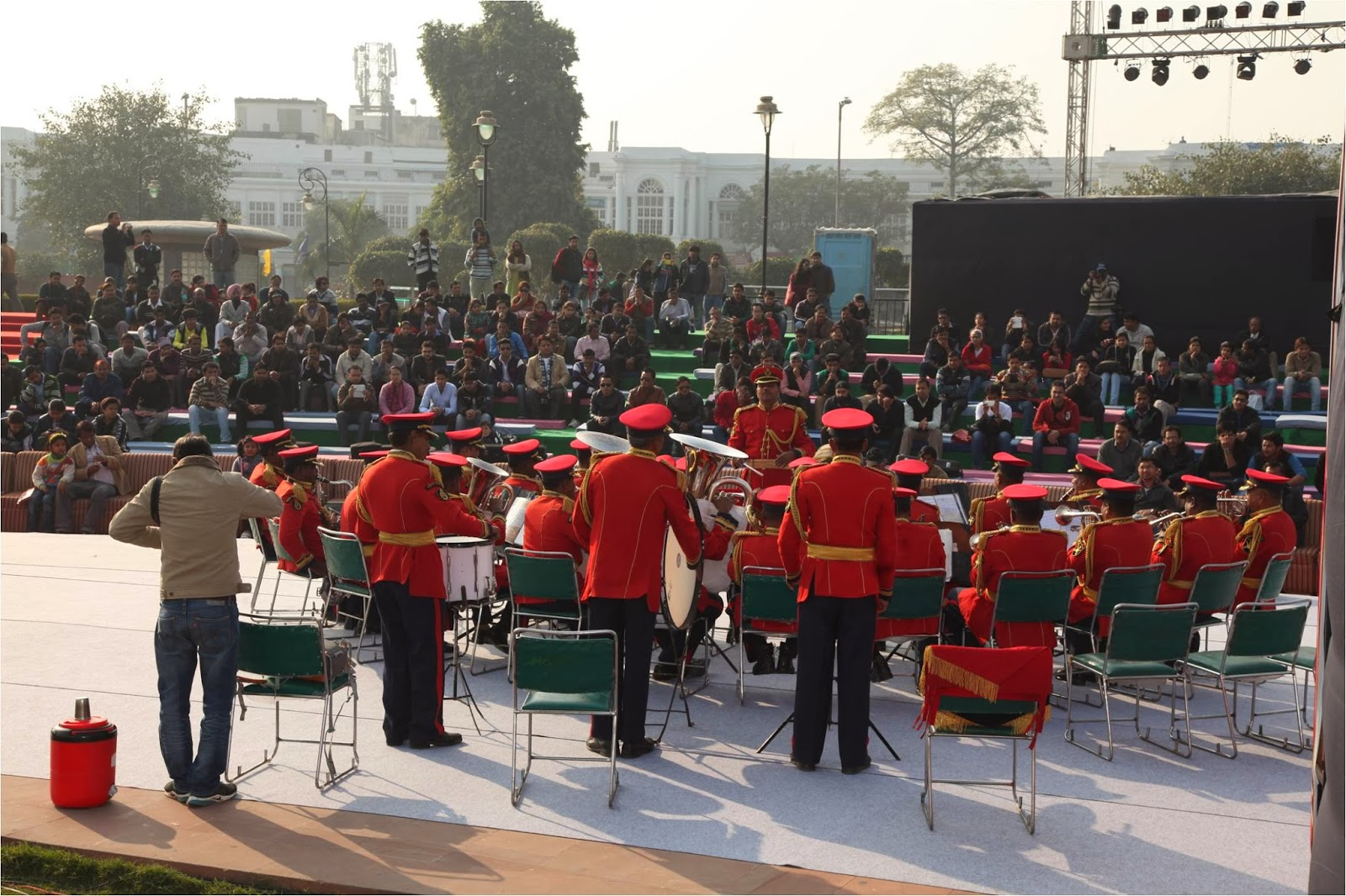 Connaught Place, Brass Band in Delhi GoBeyondSG