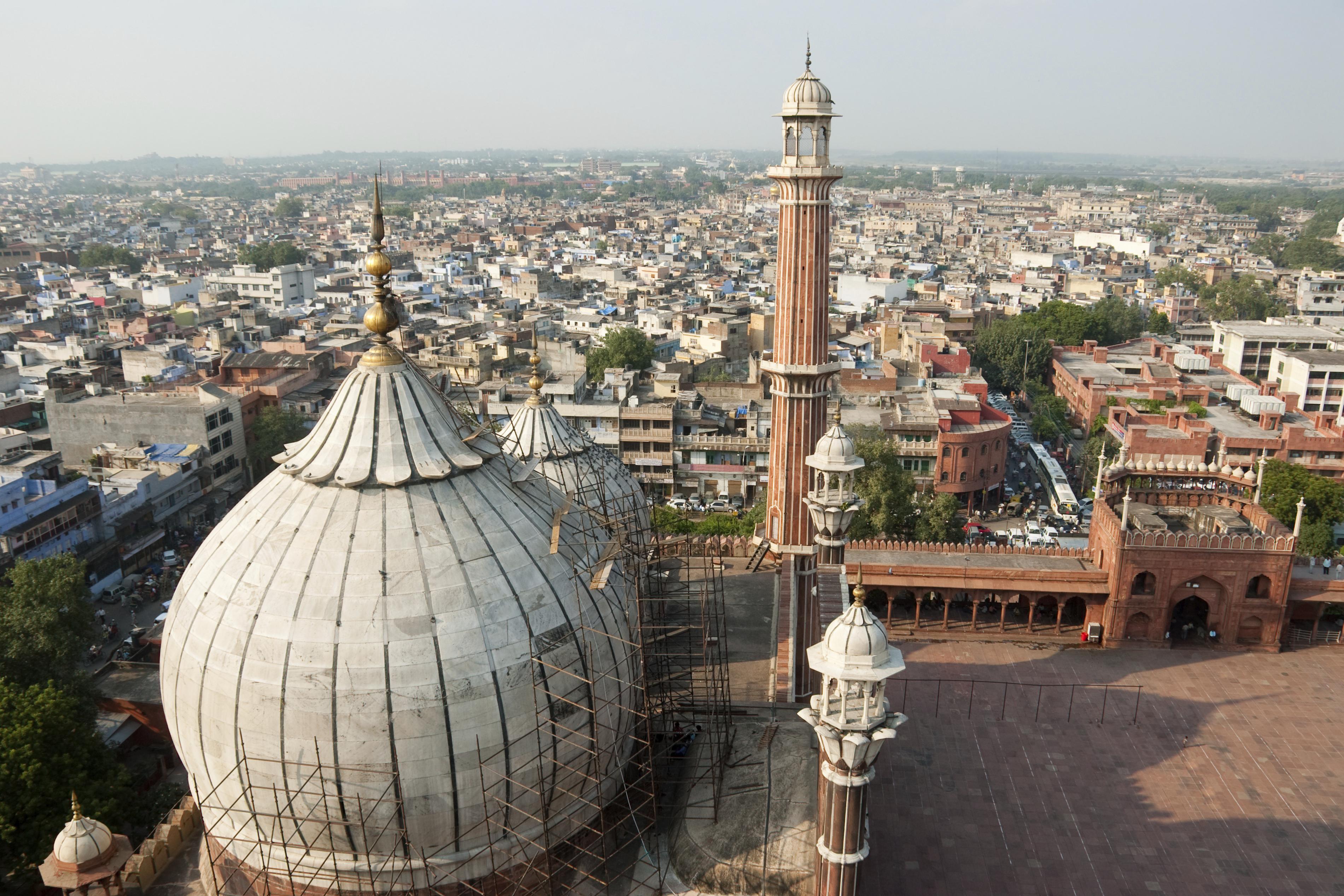 Delhi aerial view GoBeyondSG