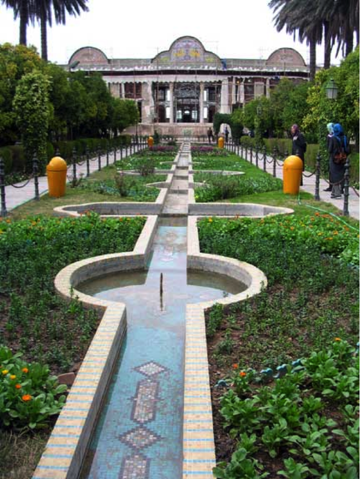 Eram Gardens in the Fars Province of Iran.