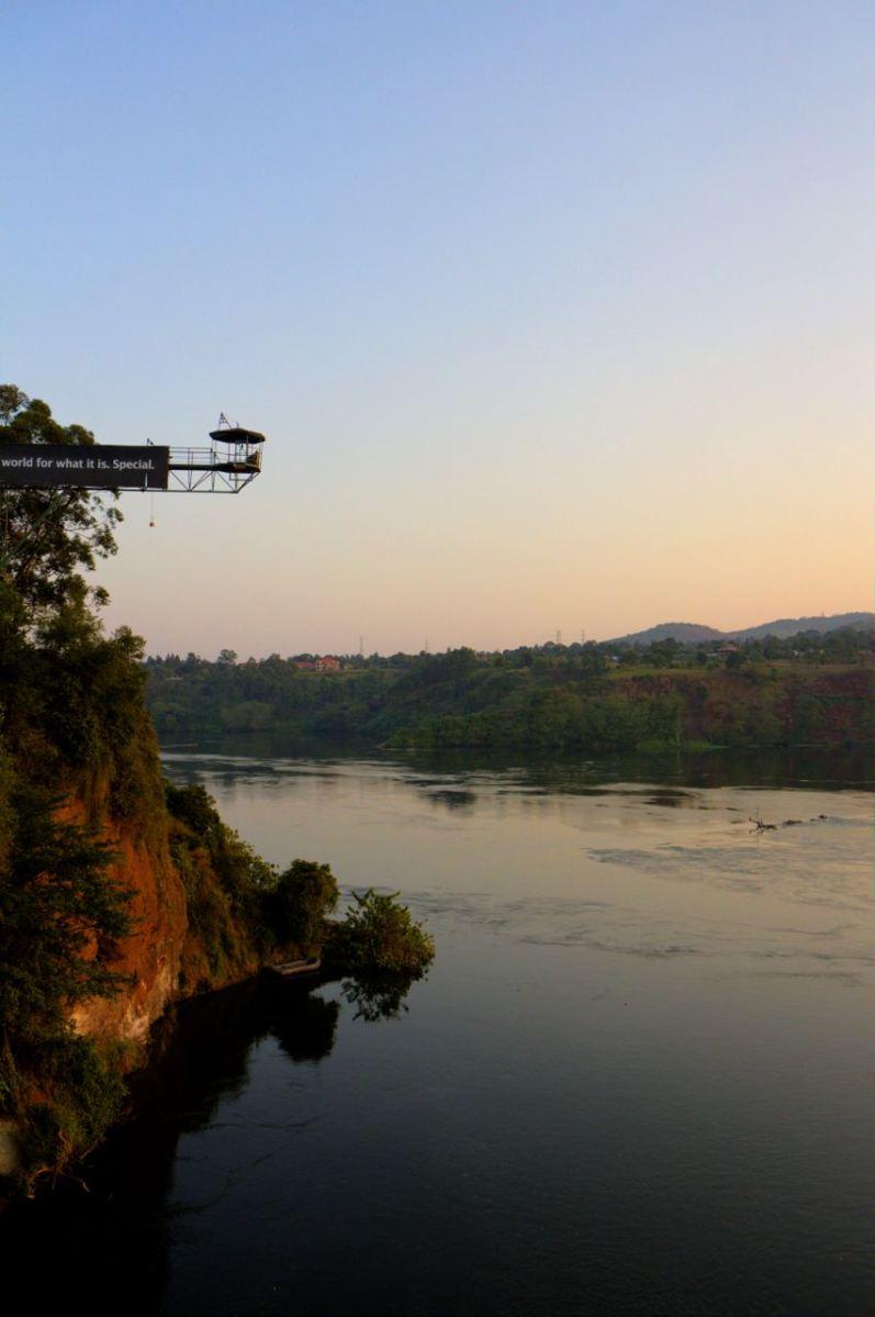 Nile High Bungee, Uganda