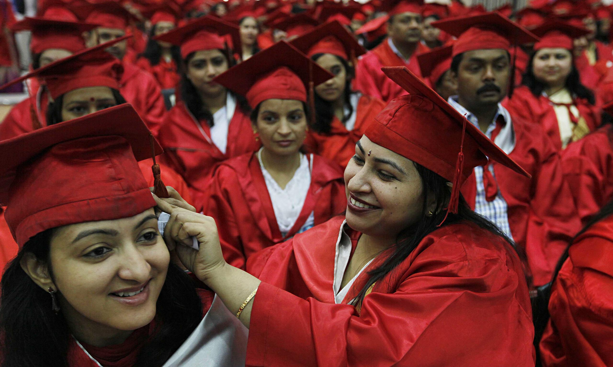 Graduates in India GoBeyondSG