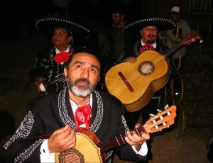 Ernesto in his Mariachi costume