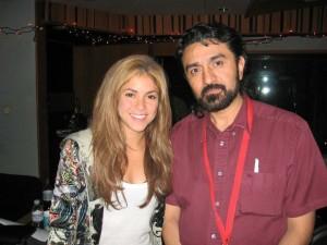 Ernesto with Shakira
