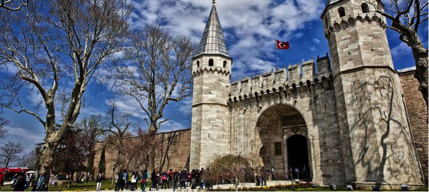 The entrance of Topkapi Palace. PHOTO: Tripagencies.com