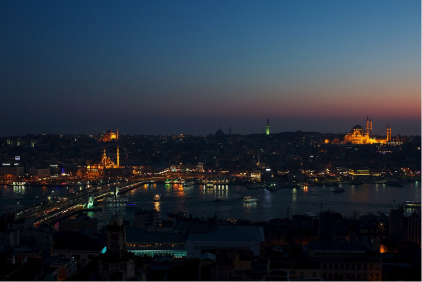 The golden horn of Istanbul PHOTO: Marco Bellucci