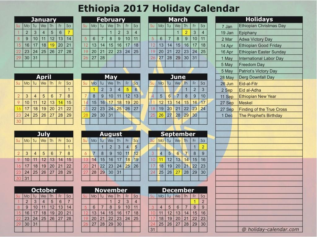 Ethiopia-2017-Holiday-Calendar
