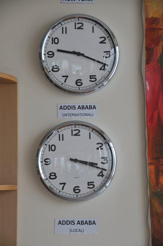 double clock